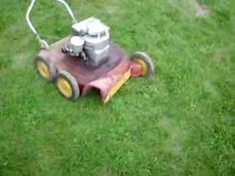 Old 1959 Vintage Lawnmower Youtube