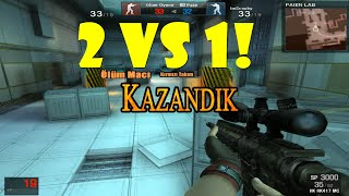 2vs1 :D - Wolfteam GAMEPLAY SESLİ #2