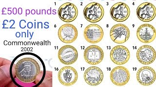 Rarest and most valuable £2 coins circulation || Valuable Coins