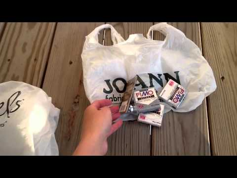 Michaels And JoAnns Craft Store Haul Video