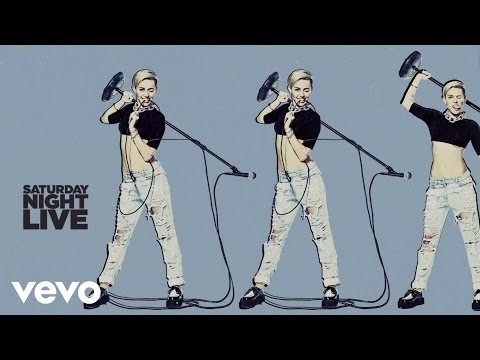 Miley Cyrus - Wrecking Ball (live On Snl) video
