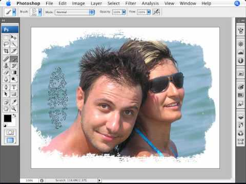Learn Photoshop - How to Create Artistic Photo Edges | 4 Video