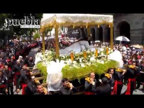 Vía Crucis: Procesión de Viernes Santo en Puebla 2014