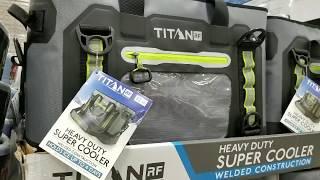 Costco! Titan RF Welded 35 Qt  Heavy Duty Super Cooler Tote! $139!!!