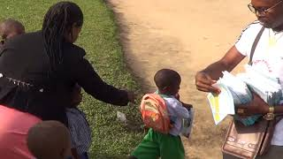 DONPHILLS FOUNDATION SHARING GOD LOVE AT EGHEREKA PRIMARY SCHOOL EWU