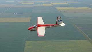 Learn to fly glider sailplane Schweizer 1-26 only $10 per hr at TSA Texas Soaring