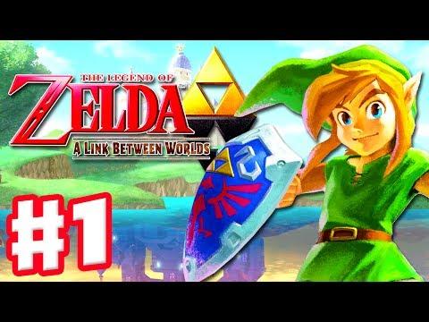 The Legend of Zelda: A Link Between Worlds - Gameplay Walkthrough Part 1 - A New Hero (Nintendo 3DS)