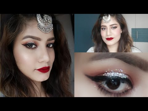 Eid Makeup Look | Glamorous Eid Makeup Look under Rs500 | #EidMubarka