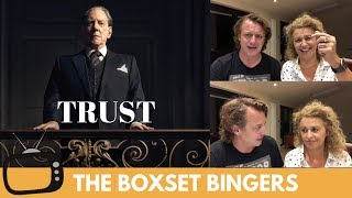 TRUST (BBC2 Series - Donald Sutherland) Ep.1 : Nadia Sawalha & Family Review