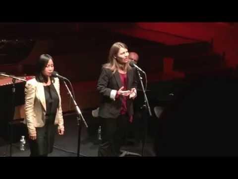 Leila Florentino & Rachel Pignot singing