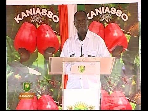 Visite présidentielle à Kaniasso: Discours du président Alassane Ouattara