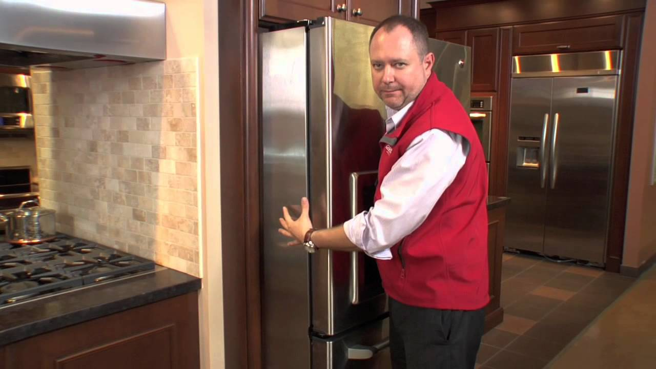 ge cafe counter depth french door refrigerator at caplan 39 s appliances youtube. Black Bedroom Furniture Sets. Home Design Ideas