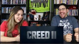Creed 2 - Official Teaser Trailer Reaction / Review