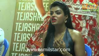 Actress Tejashree Chat With Press