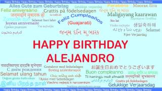 Alejandro   Languages Idiomas - Happy Birthday