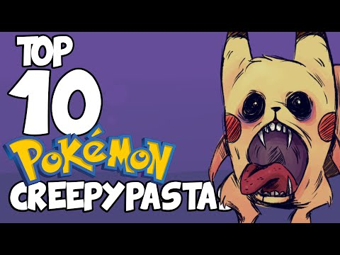 Top 10 POKÉMON CREEPYPASTAS (Christmas Special)