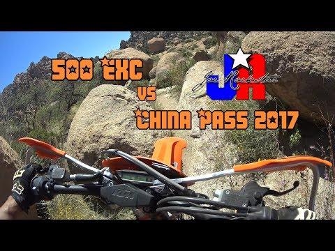 KTM500 Vs China Pass 2017