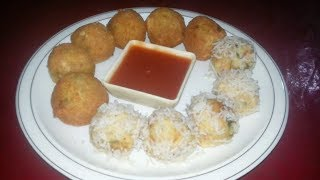 Rice Balls Recipe | Homemade Rice Balls recipe by Cook With Nuzhat