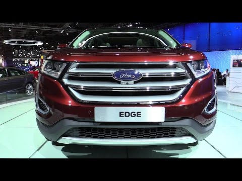 2015 Ford Edge - Exterior and Interior Walkaround - 2014 Paris Auto show