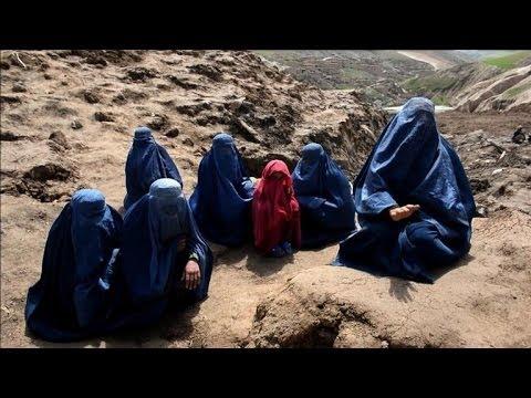 Afghans search for landslide victims