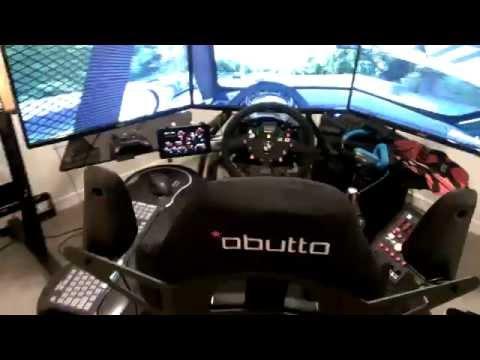 Sim Racing Cockpit 2.0