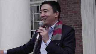 Andrew Yang Speaks at Dartmouth College