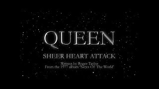 Queen - Sheer Heart Attack (Official Lyric Video)