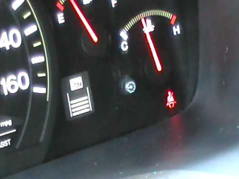 how to reset honda maint reqd light