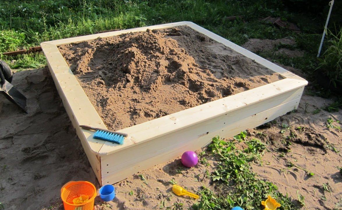 Детские песочницы своими руками фото 81