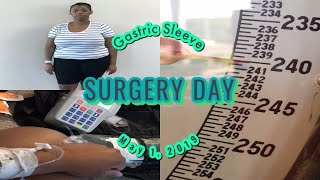 Surgery Day!!| PART 5| Bariatric Surgery| VSG