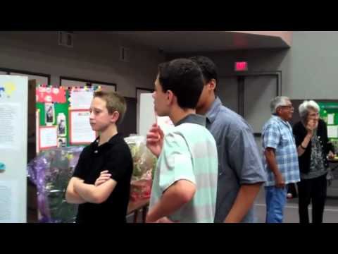Science Fair Bethany Christian School Sierra Madre,Ca 6Th. Grade - 05/15/2012
