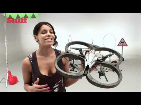 Parrot AR Drone and Gyro Flyer - RC Helicopters Race