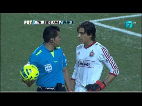 Penal Fallado Oribe Peralta Tijuana 1 - 0 America - J2 Liga Mx Clausura 2015