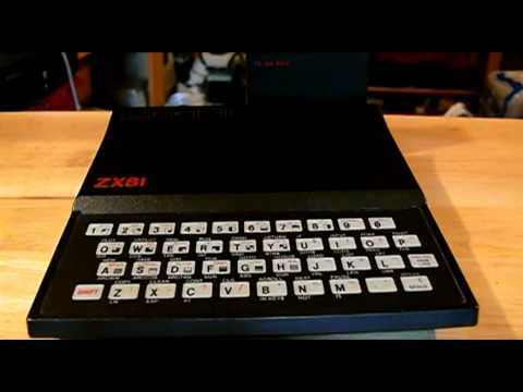 Sinclair ZX81 (Timex Sinclair 1000) System Review