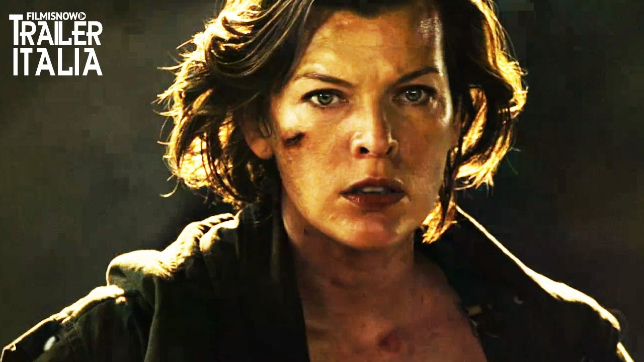 Resident Evil - The Final Chapter | Nuovo Trailer Italiano [HD]