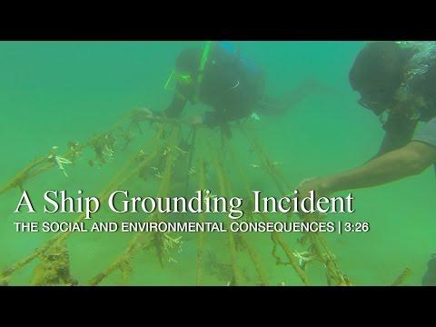 A Ship Grounding Incident