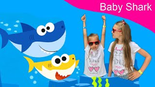 Baby Shark Dance | Sing and Dance | Animal Songs | Diana and Eva