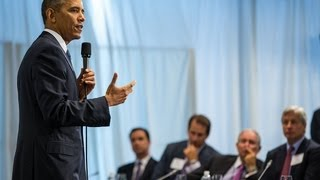 President Obama Speaks to the Business Roundtable  9/19/13