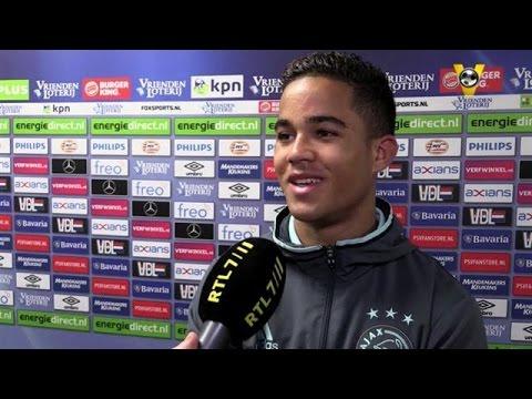 ''Zolang ik bij Ajax speel verliezen we nooit meer - VOETBAL INSIDE