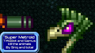 TASBot kills the animals in Super Metroid (against SGDQ 2018's wishes)