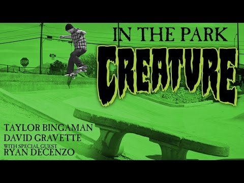In The Park: Taylor Bingaman, David Gravette, and Special Guest Ryan Decenzo