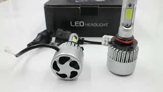 Led S2 HB3/9005 36W 4000LM. Bóng đèn ô tô, xe hơi, xe máy siêu sáng