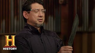 Forged in Fire: Bicycle-Damacus Blades Tested (Season 5) | History