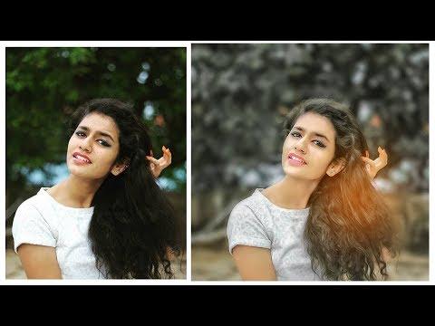 Priya Prakash Varrier Special Photo Editing | Photoshop Tutorial