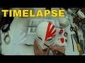 Timelapse - Bleach Ichigo Hollow Mask DIY Cosplay