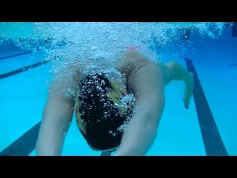M-A varsity swim 2016, filming strokes