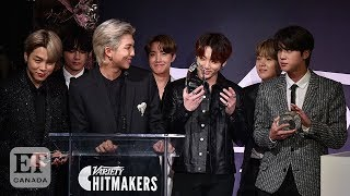 BTS Honoured During The 'Variety' Hitmakers Brunch