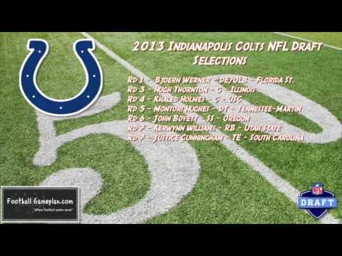 Football Gameplan's 2013 NFL Draft Grades - Indianapolis Colts