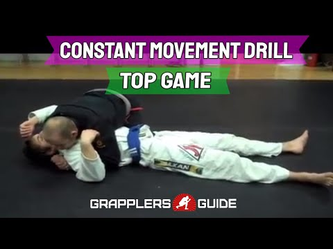 Constant Movement Drill - Top Game (Jason Scully - Monmouth County BJJ) Image 1