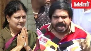 T Rajendar Slams Sasikala over Panneerselvam's allegation